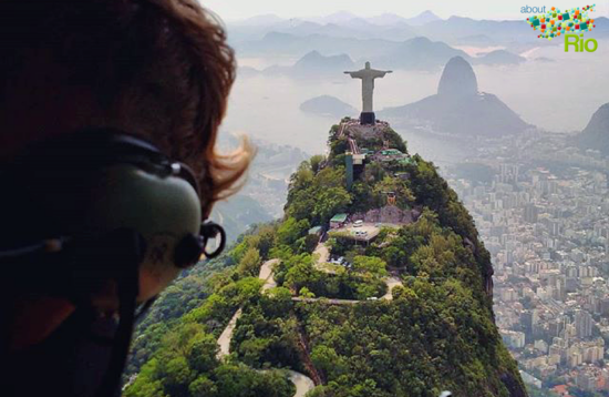 Helicopter flight | About Rio